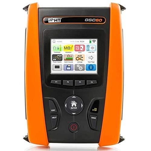 HT GSC60 Herramienta Análisis Red Verificación Seguridad Eléctrica Sistemas Eléctricos Consumo Energético App HTOSTM HV000060