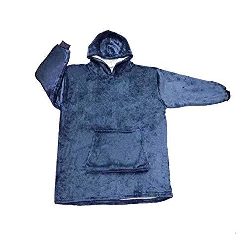 Oversized Hoodie Sweatshirt Blanket, Super Soft Warm Comfy Nightware Fleece Blanket Hoodie,...