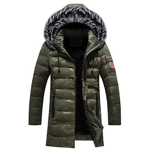 BOLAWOO Hoodie Männer Winterjacke Jacke Herren Pullover Windbreaker Mantel Strickjacke Mode Marken Lederjacken Pulli Parka Tarnen Lederjacke Daunenjacke Sweatjacke Langarmshirt Overcoat
