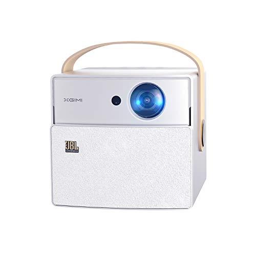 XGIMI CC Aurora Proyector (Cine en Casa, TV sin Pantalla, Fácil de Llevar, LED 180 Pulgadas, 350ANSI Lúmenes, Wi-Fi Banda Dual 2.4G/5G, Android OS, Bluetooth)