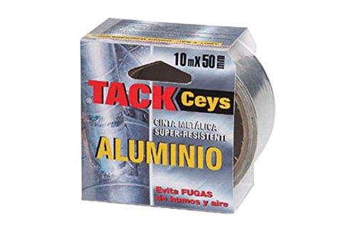 Ceys M96923 - Cinta aluminio tackceys 10 metros
