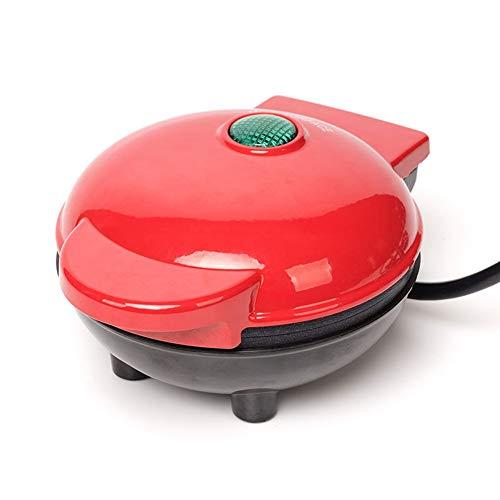 Mini Wafelijzer Elektrische ronde bakplaat is geschikt voor onafhankelijke wafels/Sammin enz Ontbijt/lunchsnack