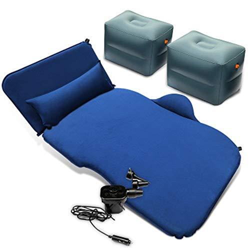 Asiento trasero inflable de la cama Aire del coche cama for dormir colchón de coches SUV asiento trasero de albergue amortiguador del coche automático inflable cama confortable cojín de asiento inflab