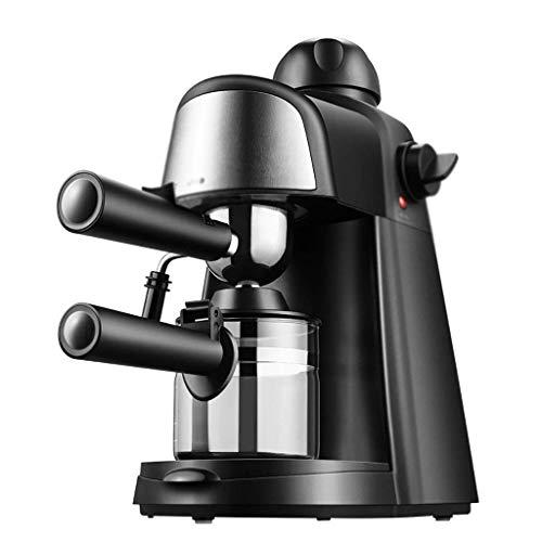 Miwaimao Máquina de café, Peque?a cafetera Italiana semiautomática para el hogar con Espuma de Leche y Vapor, cafetera de 800 W para café instantáneo