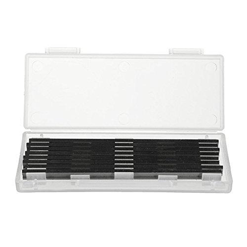 MASUNN 8Pcs 82 Mm X 5.5 Mm Hss Cuchillas De Cepilladora Reversible Para Bosch Black Decker Mafell