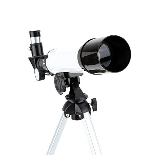 LYTBJ Telescopio astronómico refractivo HD Monocular Sting Scope Monocular Gran Angular telescopio de Zoom Potente con trípode