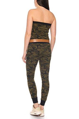 Crazy Age Jumpsuit in Camouflage Tarnfarben - 3
