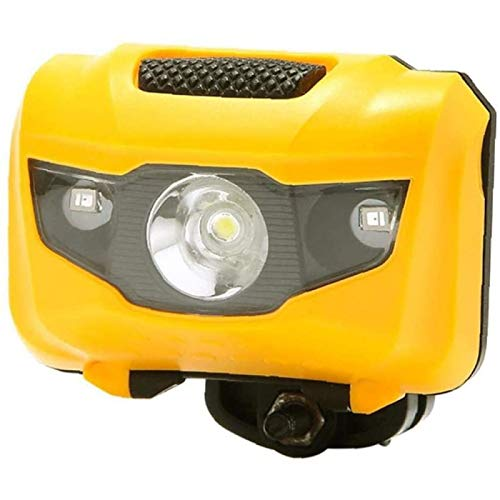 Luz de Bicicleta, Luz Delantera y Luz Trasera de Bicicleta LED MTB Súper Impermeables Luces de Advertencia de Doble Uso, para La Escuela de Deportes Al Aire Libre,Orange