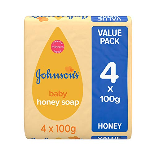 Johnson's Baby Honig Seife 4x100g