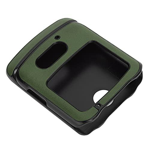 Handyhüllen Stoßfeste Handy Lederhülle PU Lederhülle Hülle Motorola Moto G5 Plus Handyhüllen(Green)