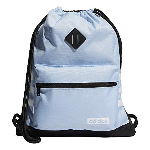 adidas Mochila unisex Classic 3s, Unisex, Bolsa, 976595, Azul brillante/Blanco/Negro, Talla única