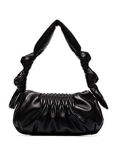 Miu Miu Luxury Fashion Damen 5BF0972C9PF0002 Schwarz Leder Schultertasche   Ss21
