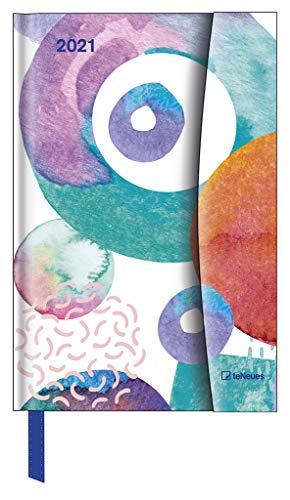 Watercolours 2021 Small Magneto Diary
