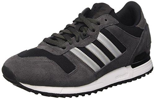 adidas Men's Zx 700 Low-Top Sneakers, Grey (Utiblk/Metsil/Core Black), 6.5 UK 40 EU
