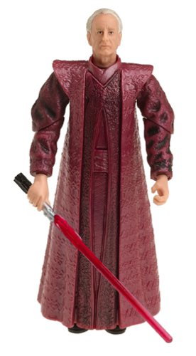 Star Wars Episode III 3 Revenge of the Sith PALPATINE Lightsaber Attack Figure 35