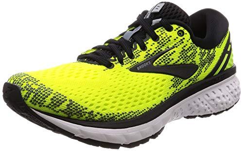 Brooks Ghost 11, Zapatillas de Running para Hombre, Amarillo (Nightlife/Black/White 795), 41 EU