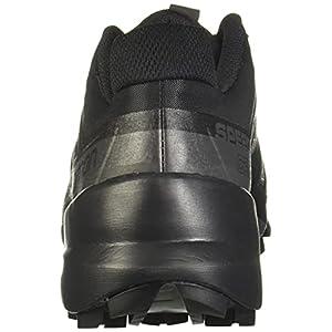 Salomon Women's Speedcross 5 Trail Running Shoes, Black/Black/PHANTOM, 9.5