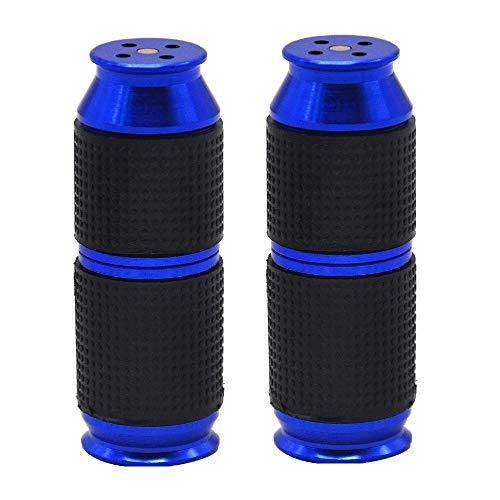QYHSS 2 Stück Sahnespender Düsen, Sahnebereiter, Aluminiumlegierung Klein und tragbar Ledertasche Frostschutzhand Cream Whipper Dispenser, für heiße kalte Cremes (lila)