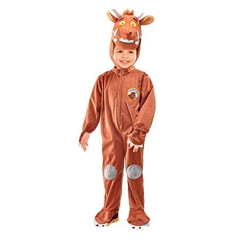 Ciao-Gruffalo' mostriciattolo Costume Tutina Baby (Taglia 2-3 Anni), Colore Marrone, 11283.2-3