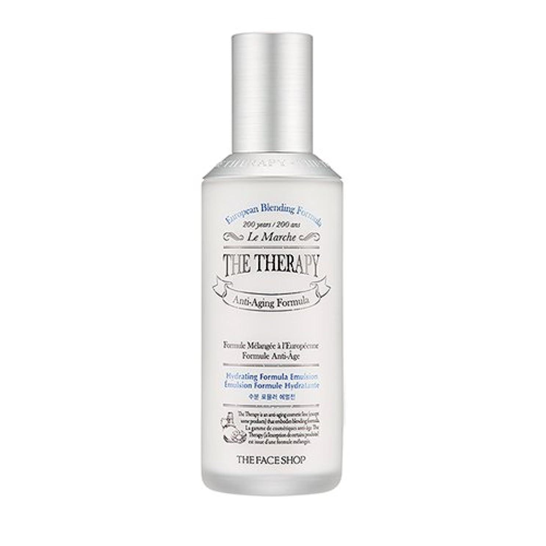 書き込み典型的な獲物THE FACE SHOP The Therapy Hydrating Formula Emulsion 130ml/ザフェイスショップ ザ セラピー ハイドレーティング フォーミュラ エマルジョン 130ml