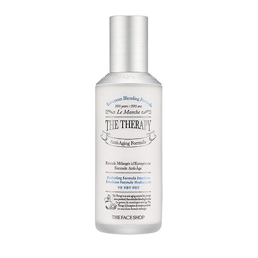 パートナーレモン統計的THE FACE SHOP The Therapy Hydrating Formula Emulsion 130ml/ザフェイスショップ ザ セラピー ハイドレーティング フォーミュラ エマルジョン 130ml
