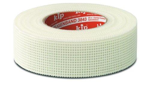 3 Rollen kip Fugenband 3843-00 weiß 90 m x 48 mm