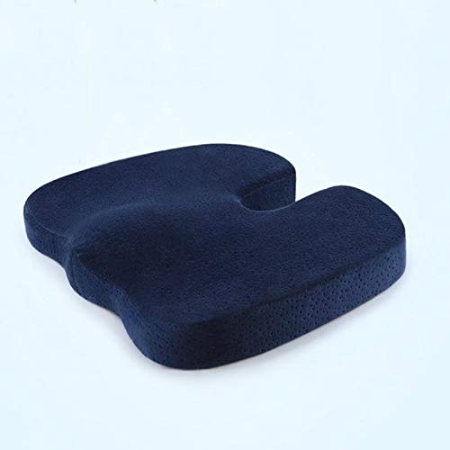 Deer Relax Seat Cushion, U-shaped Travel Chair Cushion, Orthopedic Massage to Relieve Bone Neuralgia Chair Cushions, for Office and Home Use Comfortable (Color : A)