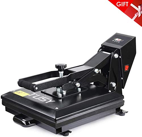 TUSY Heat Press Machine 15x15 inch Digital Industrial Sublimation Printer Press Heat Transfer Machine for T Shirts