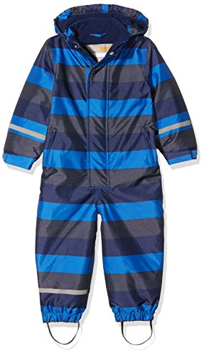 CareTec Kinder Schneeanzug, Mehrfarbig (Blue Nights 7899), 104