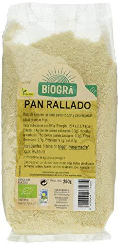Biográ Pan Rallado (Para Rebozar) 250G Biogra Bio Biográ 400 g