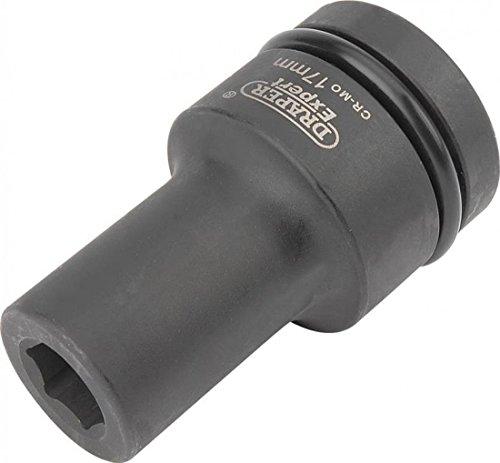 Draper Expert 5132 17 mm 2,5 cm carré d'entraînement Hi-Torq à 6 Points Deep Impact Socket, 425D-MM