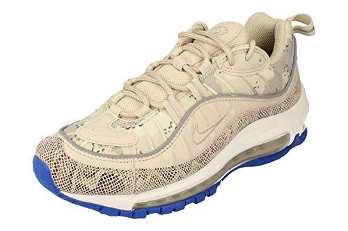 Nike W Air MAX 98 PRM, Zapatillas de Atletismo Mujer, Multicolor (Lt Orewood Brn/Lt Orewood Brn 000), 38 EU