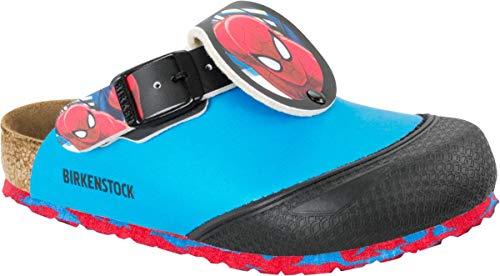 BIRKENSTOCK Clog Boston Marvel Spiderman Blue 1006830, Größe + Weite:36 normal, Farben:Marvel Spiderman Blue