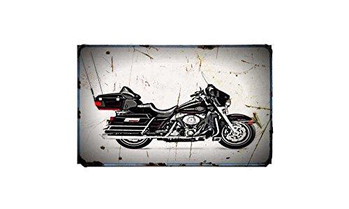 Red Rat Harley Davidson Ultra Classic Electra Glide Bike - Bicicleta eléctrica,...