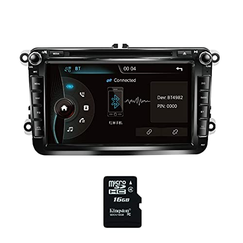 Amaseaudio Upgrade für VW Tiguan Golf CC Passat 8 Zoll Doppeltes 2 Din in Dash...