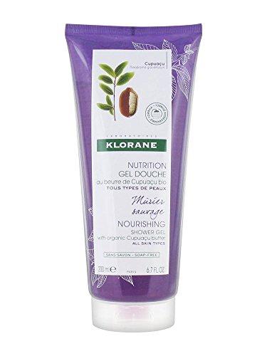Klorane Corps Nutrition Gel Douche Mûrier Sauvage Alle Hauttypen 200ml