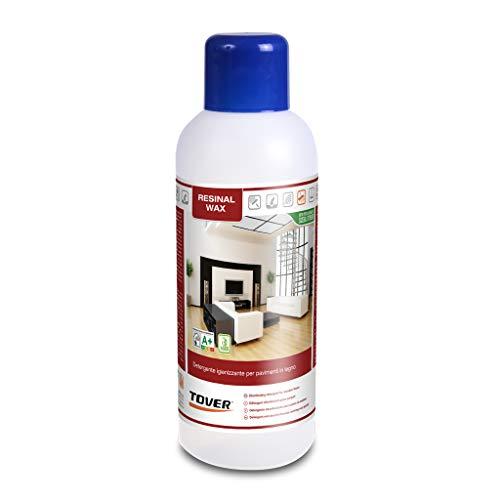 Prodotto pulizia parquet Cera protettiva autolucidante RESINAL WAX per parquet legno verniciato e laminato 1 Litro