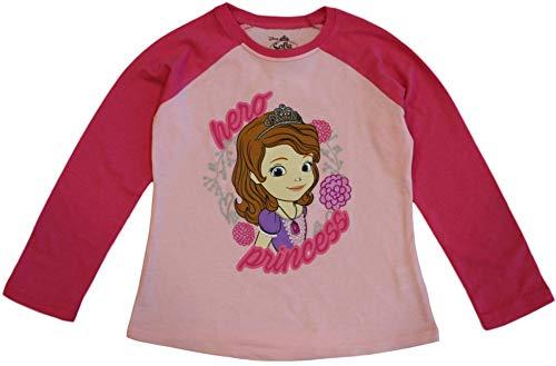 Sofia the First Disney Little Girls' Toddler Princess Tee (3T) Pink