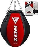 RDX MMA Wrecking Ball Sac Uppercut De Frappe Mural Lourd Boxe Rempli Pied Poing Kickboxing