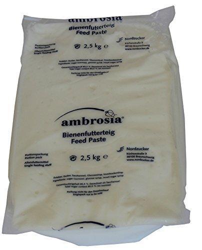 Nordzucker Ambrosia Futterteig 2,5kg zum Füttern von Bienen