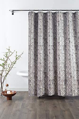 Croscill Slaon Shower Curtain, Grey