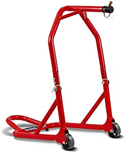 ConStands Motorcycle paddock stand Front Head Lift red incl  pin set for Yamaha YZF 600 750 R SP  YZF-R 125  YZF-R1  YZF-R6