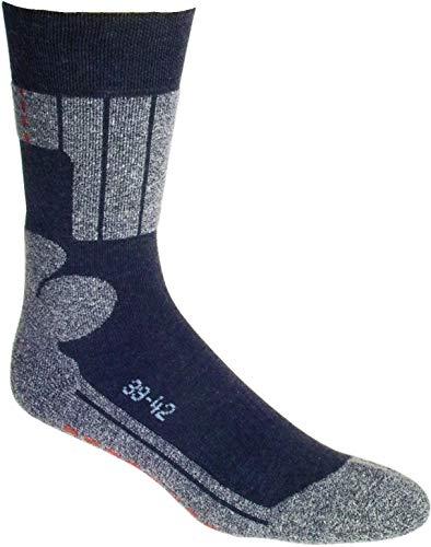 socksPur ALLROUND SPORT & SKATERSOCKEN 2er PACK (43-46, schwarz + schwarz)