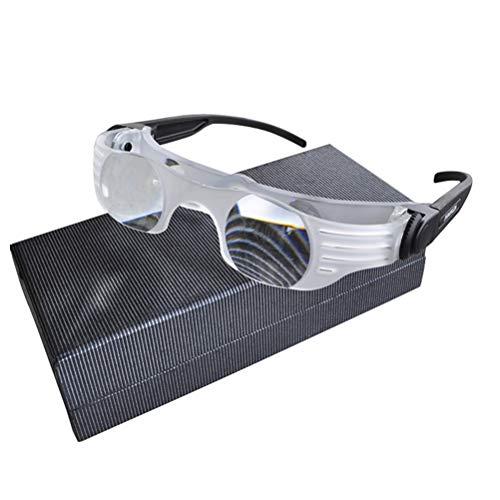 Gafas de polarización miope portátil multifunción para pesca, telescopio mini microscopio portátil al aire libre para niños, caza, observación de aves, camping