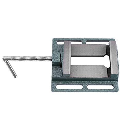 Drill Press Schraubstock, Schraubstock für Bohrmaschine Backenbreite 20 mm, Backenöffnung 110 mm Schraubstock für die mit Säule Drill/Holzbearbeitung Bohrungen, zum Clamp