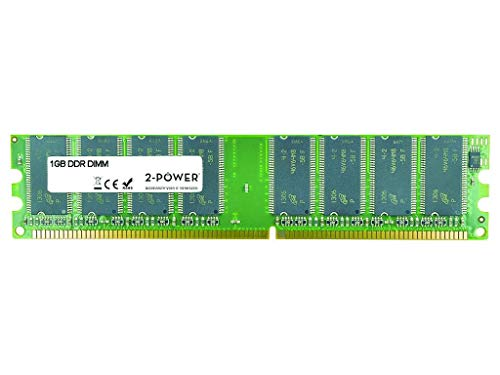 Price comparison product image 2-Power MEM1002A 1 GB DIMM 184-Pin,  400 MHz / PC3200,  CL3,  Unbuffered