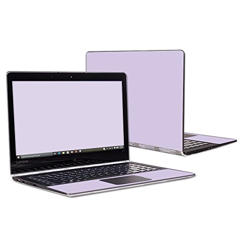 MightySkins Skin Compatible with Lenovo Yoga 900 13.3' Screen wrap Cover Sticker Skins Solid Lilac