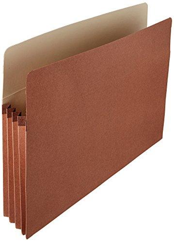 AmazonBasics Expanding Accordian Organizer File Folders - Letter Size, 25-Pack