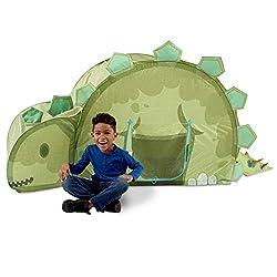 5. Basic Fun Playhut Stegosaurus Hut Pop-Up Play Tent