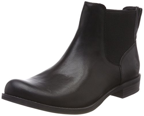 Timberland Damen Magby Low-Chelsea Boots, Schwarz (Black Full Grain), 39 EU